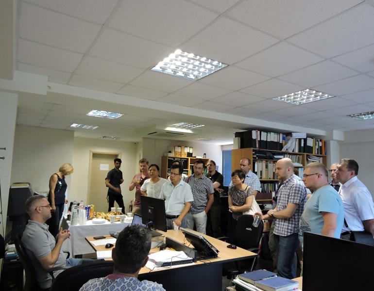 Εικόνα 7 από επίσκεψη στα γραφεία