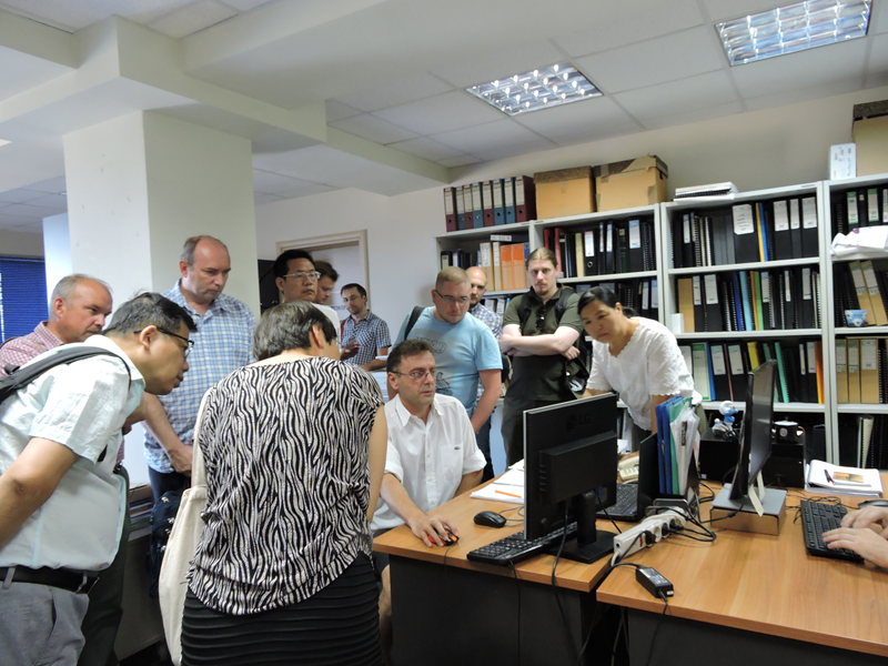 Εικόνα 6 από επίσκεψη στα γραφεία