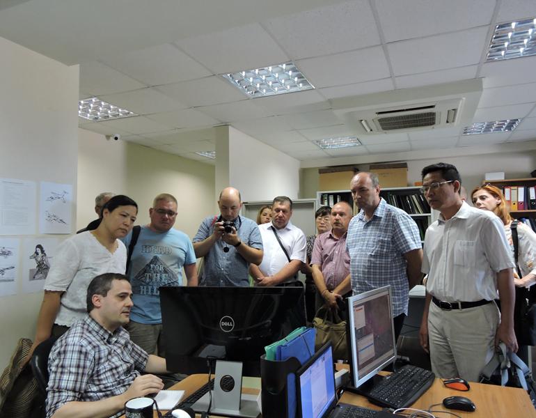 Εικόνα 5 από επίσκεψη στα γραφεία