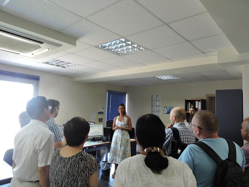 Εικόνα 3 από επίσκεψη στα γραφεία